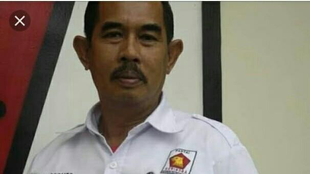 Ketua DPC Gerindra Kabupaten Bungo, Surip Harianto, semasa hidup /Foto: ist.