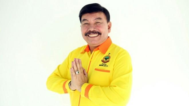 Mayjen (Purn) Sumiharjo Pakpahan, calon legislatif (caleg) Partai Berkarya dapil Jawa Tengah X.