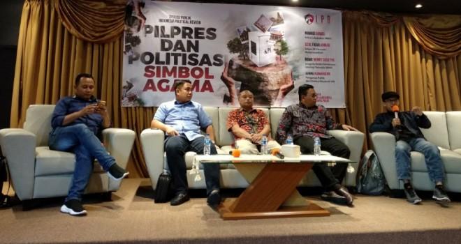 """Diskusi bertema """"Pilpres dan Politisasi Simbol Agama"""", Kamis (4/4) di Cikini, Jakarta Pusat. Foto : Ist"""