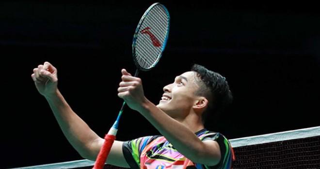 Jonatan Christie. Foto : Badminton Indonesia