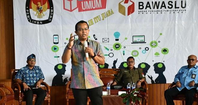 Pimpinan Bawaslu Provinsi Jambi, Fachrul Rozi. Foto : Ist