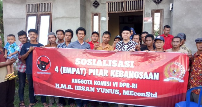 Ihsan Yunus : Pemilihan Umum Serentak Adalah Tes Pengalaman Pancasila. Foto : Ist