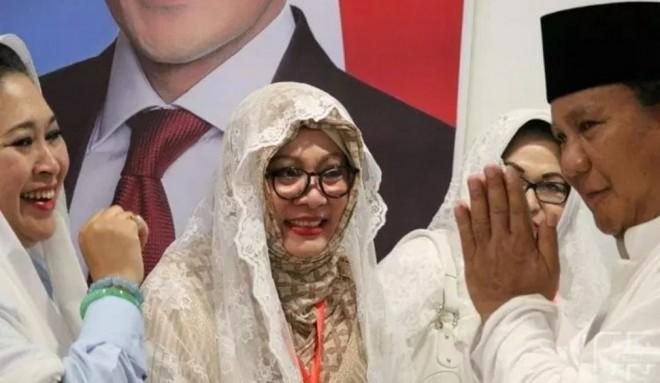 Kehadiran Tiga Putri Pak Harto Sempurnakan Suasana Kampanye Akbar Prabowo-Sandi. Foto : Ist