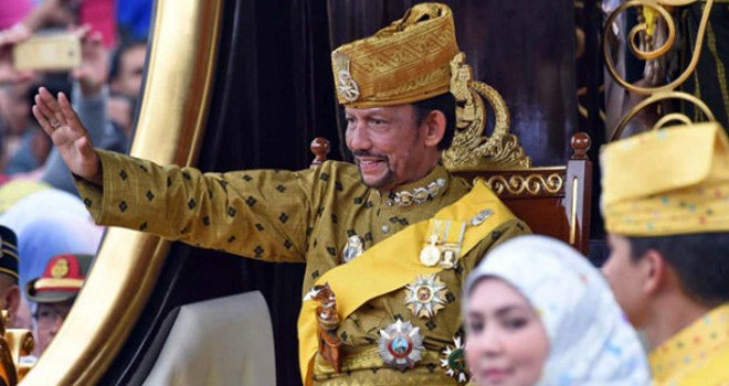Sultan Hassanal Bolkiah. Foto : AFP