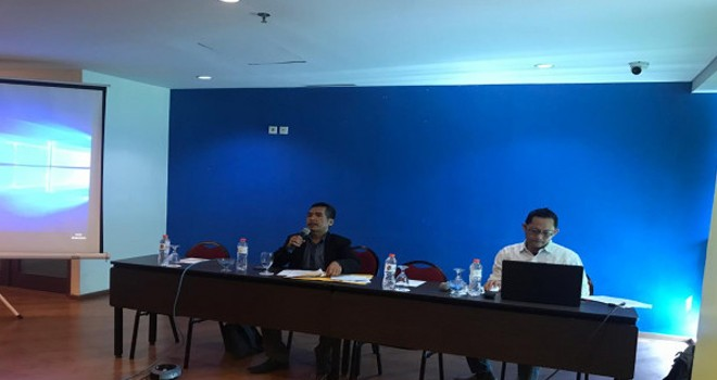 Pemaparan survei Indomatrik di Jakarta. Foto : Ist