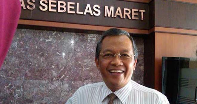 Ketua Lembaga Tes Masuk Perguruan Tinggi (LTMPT)) Prof Ravik Karsidi. Foto : Dok UNS