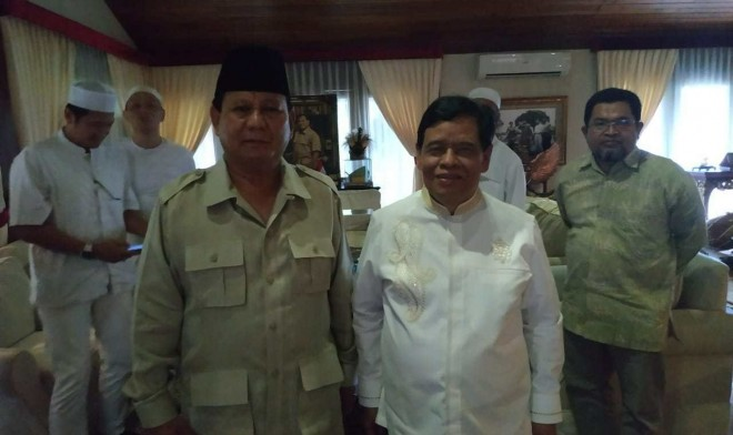 Murady bersama Prabowo. Foto : Ist