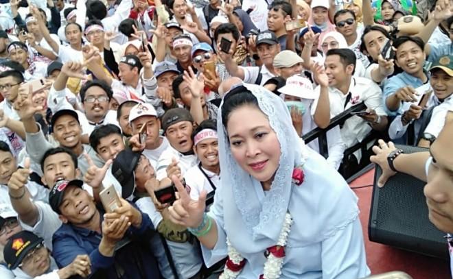 Ketua Dewan Pertimbangan Partai Berkarya, Siti Hediati Hariyadi. Foto : Ist