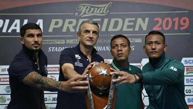 Jadwal kickoff laga final Piala Presiden 2019.