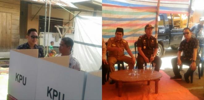 Ketua DPRD Fikar Azami Dampingi Wako AJB Pantau TPS.