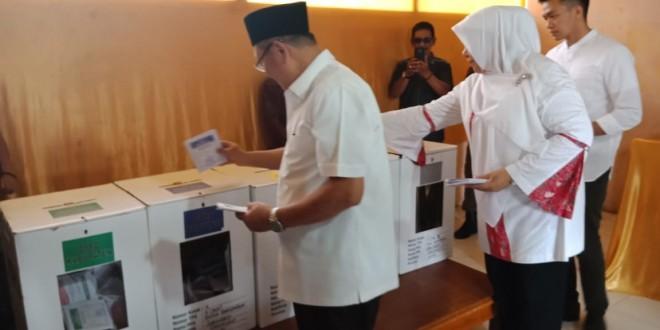 Di TPS Tempat CE Nyoblos, Prabowo Sandi Menang.