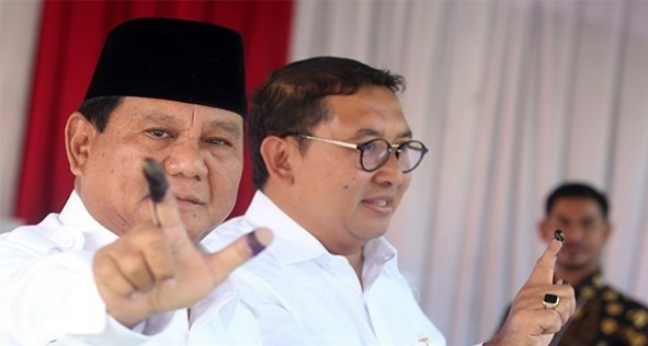 Capres Prabowo Subiyanto. Foto : Ricardo / JPNN