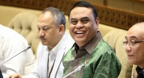 Menteri Pendayagunaan Aparatur Negara dan Reformasi Birokrasi (MenPAN-RB) Syafruddin. Foto : Hendra Eka / Jawapos