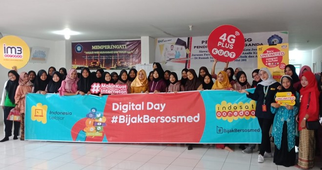 Acara Digital Day di Siswa/i SMK Fania Salsabila.