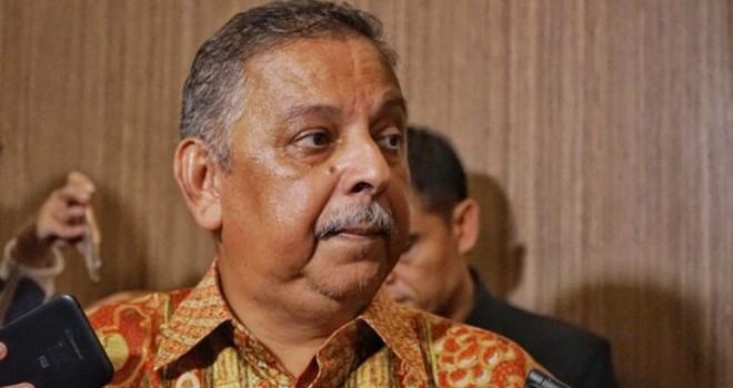 Dirut PT PLN Sofyan Basir dicopot dari jabatannya setelah menjadi tersangka dalam kasus dugaan korupsi PLTU Riau-1. Foto : Issak Ramdahni/JawaPos.com
