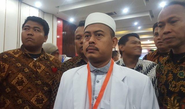 Ketua Pelaksana Ijtima Ulama, Slamet Maarif (Gunawan Wibisono/JawaPos.com)