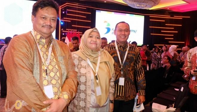 Bupati Masnah Hadiri Musrenbangnas Di Jakarta. Foto : Ist