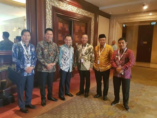 Bupati Kerinci Hadiri Musrenbangnas Tahun 2019 di Hotel Shangri-La Jakarta.