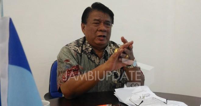 Ketua DPD Partai Demokrat Provinsi Jambi, Burhanudin mahir. Foto : Dok Jambiupdate