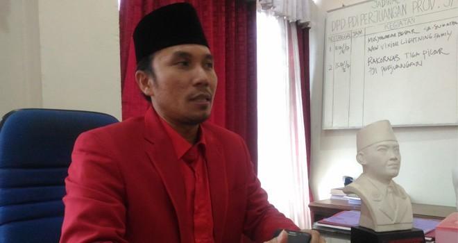 Ketua DPD PDI Perjuangan Provinsi Jambi, Edi Purwanto. Foto : Dok Jambiupdate