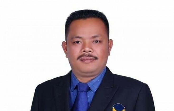 Sapuan Ansori caleg dari Partai NasDem dari Dapil II Batanghari-Muarojambi.
