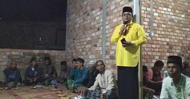 Caleg dari partai Golkar Ivan Wirata. Foto : Ist