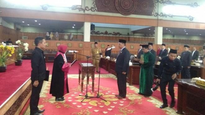 Pelantikan Zainul Arfan  (14/5).