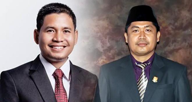 Muhammad Yasir (kiri) dan Putra Absor Hasibuan (kanan).