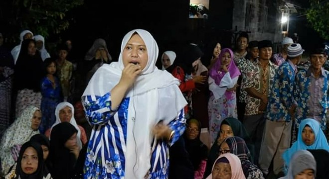 Safari Ramadhan di Jebus, Bupati Masnah Ajak Tingkatkan Keimanan.