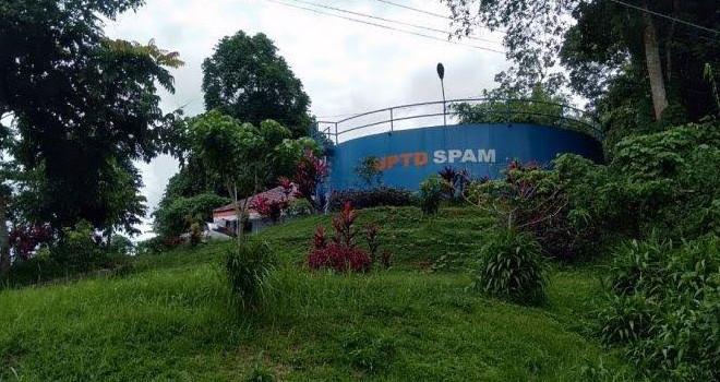 UPTD SPAM Tanjabtim. Foto : Maulana / Jambiupdate