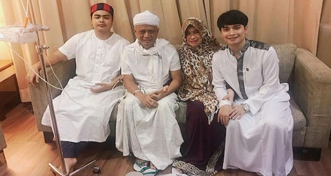 Ustaz Arifin Ilham (tengah). Foto : Net