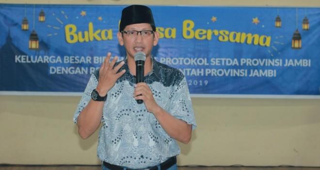 Kepala Biro Humas dan Protokol, Johansyah.
