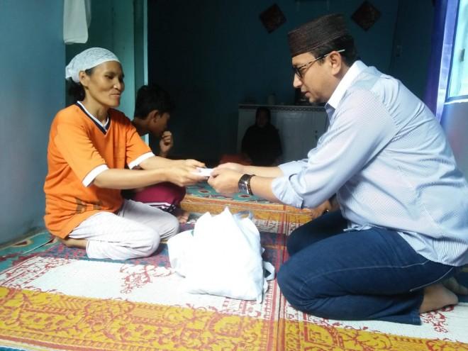 Berbagi Berkah Ramadan, Iwako Santuni Warga Kurang Mampu.