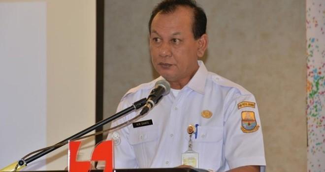 Sekretaris Daerah Provinsi Jambi M.Dianto.