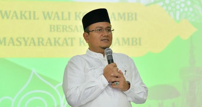 Wakil Walikota Jambi Maulana. Foto : Ist