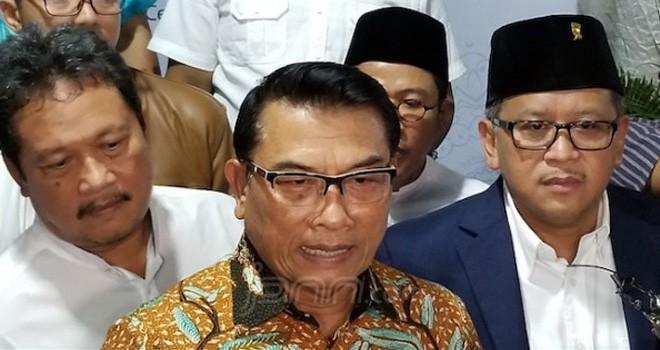Ketua Harian Tim Kampanye Nasional (TKN) Jokowi - Ma ruf Amin, Moeldoko. Fathan Sinaga / JPNN