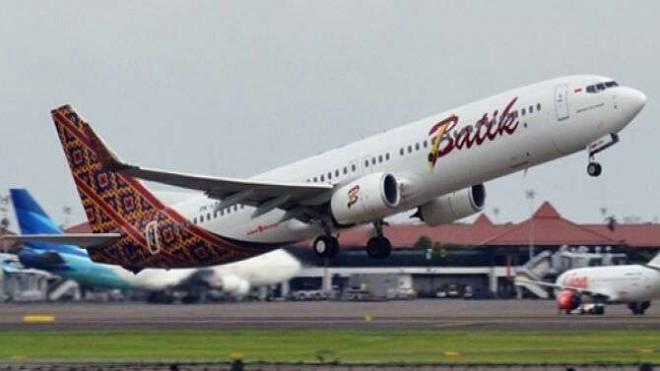 Ilustrasi maskapai penerbangan Batik Air dari Group Lion (JawaPos.com)