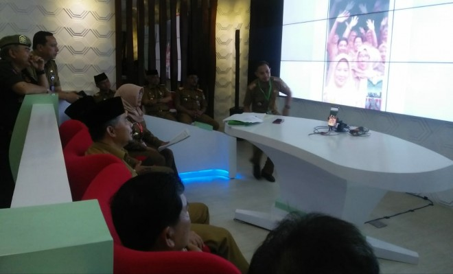 Sidak Hari Pertama Kerja. Foto : Hafiz / Jambiupdate