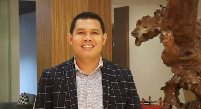 Plt Ketua DPD II Golkar Kabupaten Merangin, Supardi Nurzain.
