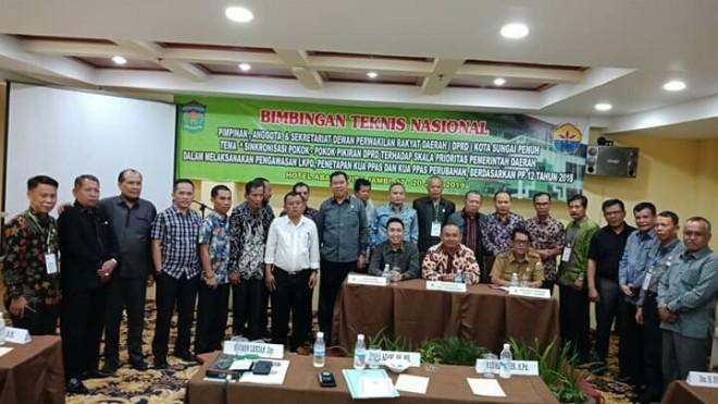 Bimbingan Teknis (Bimtek) Nasional, Dalam upaya memaksimalkan pelaksanaan pengawasan LKPD, Penetapan KUA PPAS dan KUA PPAS Perubahan, Dewan Perwakilan Rakyat Daerah (DPRD) Kota Sungai Penuh.