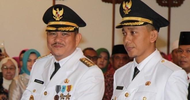 Mashuri dan Safruddin Dwi Apriyanto. Foto : Dok Jambiupdate