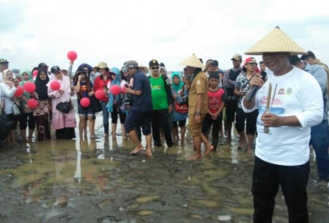 Sambutan Bupati Tanjabtim pada Festival Sumbun Kampung Laut