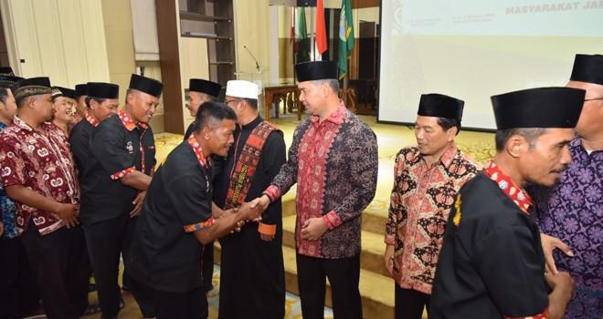 Perkuat Silaturrahmi, Wali Kota Syarif Fasha Gelar Halal bi Halal Bersama Masyarakat Jambi asal Jawa.