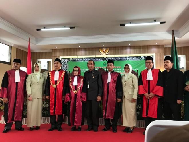 Andi hendrawan, SH. MH dilantik Jadi Ketua PN Kuala Tungkal.