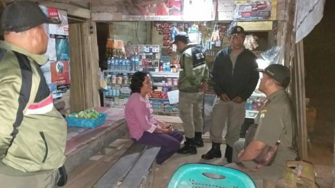 Razia warung ini dilakukan oleh Polisi Pamong Praja Muarojambi