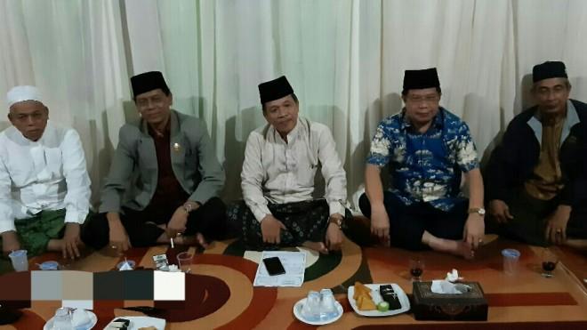 Penyampaian Dukungan saat hadir di acara Halal bilhalal Rumpun Adat Depati Setio.
