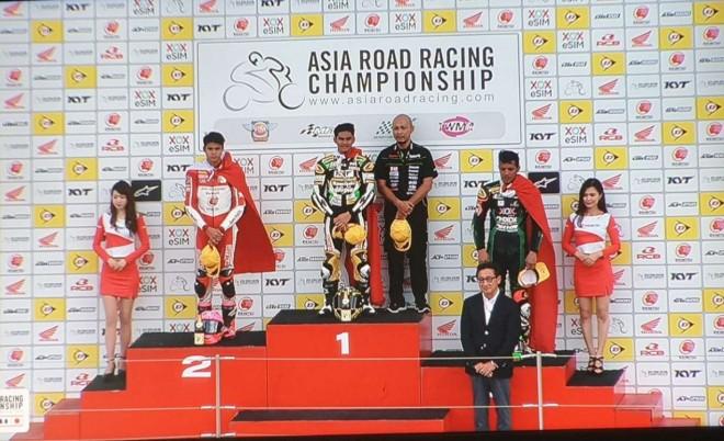 Pebalap-pebalap Indonesia tampil ciamik dalam sesi kualifikasi kelas AP250 Asia Road Racing Championship (ARRC) seri keempat, di Suzuka International Circuit, Jepang, Sabtu (29/6/2019).
