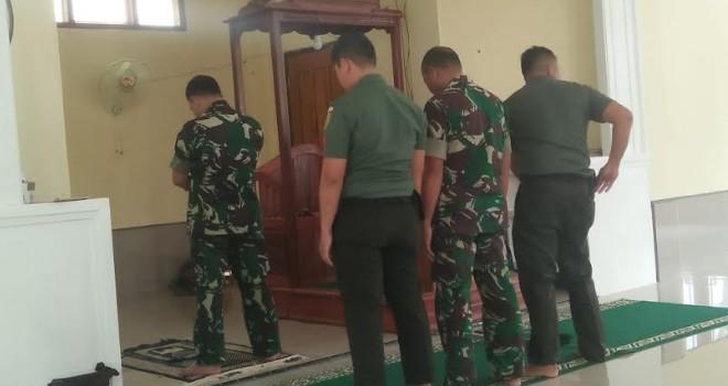 Usai Sholat Dzuhur, Dandim 0415/Batanghari Tinjau Sejumlah Lokasi Sasaran Pembangunan TMMD Ke-105.