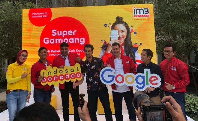 Indosat Ooredoo Gandeng Google Permudah Cek dan Beli Kuota Internet.