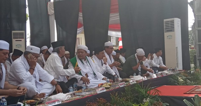 Polda Jambi Gelar Tabligh Akbar Bersama Masyarakat. Foto : Ist